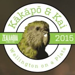 Zealandia's eye-in-the-sky Alfie Kākā catches up with cousin Sirocco Kākāpō