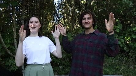 NZ Sign Language Week with ZEALANDIA
