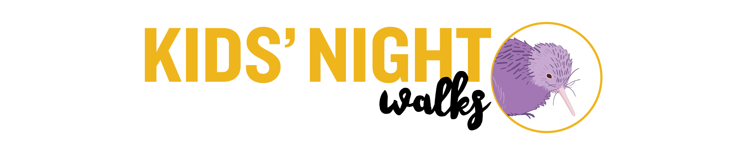 Kids Night Walks Logo